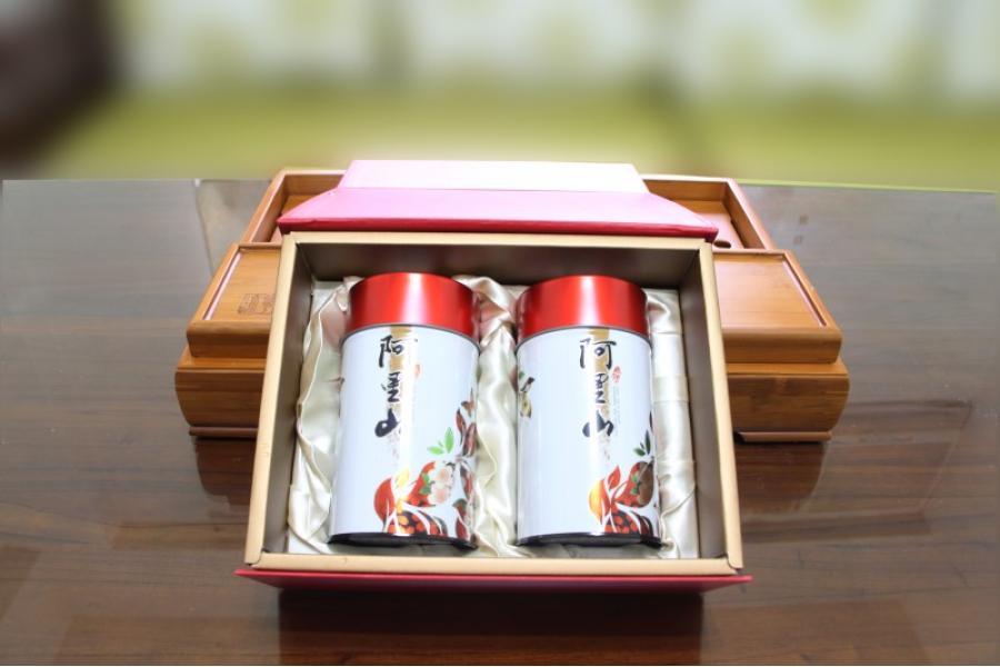 特級阿里山高山金萱茶禮盒